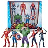 """ALL NEW!!! Marvel Core Characters Action Figures 5-Pack includes Black Widow, Iron Man, Spider-Man, Captain America, and Hulk, 6"""" Figures (saidkam29) Tags: 5pack action america black captain characters core figures hulk includes iron marvel spiderman widow"""