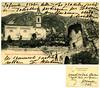 Roncegno, chiesa del Marter e torre tonda presso Roncegno. Stengel & Co., Dresden (Ecomuseo Valsugana | Croxarie) Tags: roncegno roncegnoterme marter cartolina chiesa torre tortonda