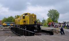 Taking a spin after the parade (Michael Berry Railfan) Tags: rs2 alco mlw montreallocomotiveworks dieselweekend exporail canadianrailwaymuseum stconstant quebec robervalsaguenay rs20