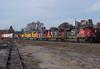 Massive 323 (Joseph Bishop) Tags: cn 8828 emd sd70m2 cndundassubdivision brantford ontario trains train track tracks railfan railroad railway rail rails