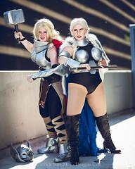 SP_68524-4 (Patcave) Tags: thor valkyrie norse god marvel comics marvelcosplay hammer throw superhero blonde mjolnir armor cape