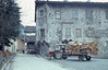 Tractor-trailer load of logs. Rauris Austria (Mary Gillham Archive Project) Tags: 1965 5217 agriculture april1965 austria building industry rauris