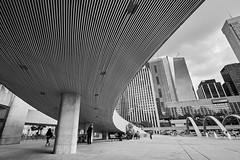 Toronto (marco zama) Tags: bw black white toronto ontario canada city hall urban pattern outdoor street square architecture buildings