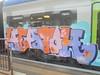 164 (en-ri) Tags: heatoh tfs crew lilla rosa arancione viola stelline giallo train torino graffiti writing