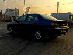 First love (ЮлианТодоров) Tags: firstlove french france bulgaria rear apocalypse sky sun sunrise blue race love car peugeot