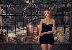 Get This Party Started (Serena Snowfield) Tags: hillyhaalan secondlife sl truthhair glamaffair maxigossamer holidayparty fabfree fabulouslyfreeinsl hellodave