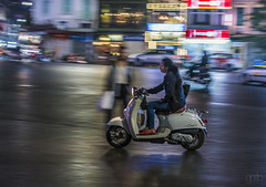 20171107_3925 (lgflickr1) Tags: hanoi vietnam woman scooter motorbike street night movement nikon d750 lights lowlight blur panning city buildings people ghosts southeastasia streetphotography vacation travel urban
