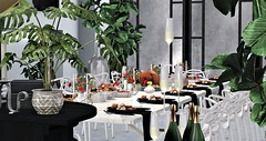 Give Thanks... (Anala Rae) Tags: thanksgiving canada america dinner turkey theloft theloftsl dining champagne wine
