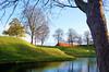 Jogger on the Citadel ramparts (Lars Plougmann) Tags: autumn jogging kastellet copenhagen ramparts citadel denmark moat runner københavn capitalregionofdenmark dk dscf3609