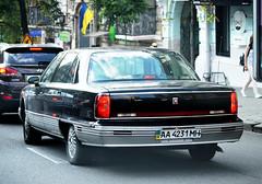 AA4231MH (License plates spotter from Ukraine) Tags: oldsmobile 98 licenseplates ukraine kyiv номернізнаки aa4231mh aa україна київ aamh black