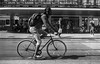 Bicycle (Nicola Gilg) Tags: street streetphotography zurich negative positive reportage outdoor city minolta x700 blackwhite strasse velo