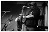 Joe McPhee & Paal Nilssen-Love @ Cafe Oto, London, 8th December 2017 (fabiolug) Tags: sax saxophone tenorsax tenorsaxophone joemcphee paalnilssenlove duo improvisation improv freejazz jazz avantgardejazz avantgarde experimental cafeoto london dalston music gig performance concert live livemusic leicammonochrom mmonochrom monochrom leicamonochrom leica leicam rangefinder blackandwhite blackwhite bw monochrome biancoenero 35mmsummicronasph 35mmf2summicronasph summicronm35mmf2asph summicron35mmf2asph 35mm summicron leicasummicron leica35mm