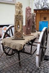 Skulpturen (reipa59) Tags: weihnachtsmarkt ausstellung stein skulpturen karren deidesheim südpfalz rheinlandpfalz