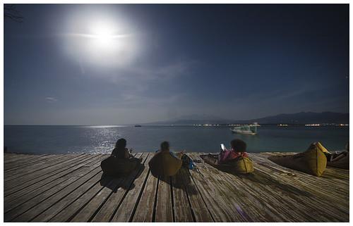 Full Moon at Eco Hostel