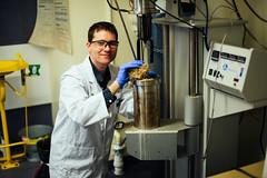Thomas (Tom) Rainey (QUT Science and Engineering Faculty) Tags: qut staff profile portrait thomas rainey tom cpme chemical engineering energy process