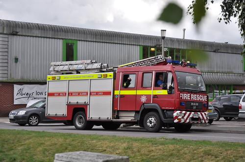 Devon & Somerset Fire & Rescue Service | MAN L2000 | Water Rescue Ladder | WA51 OOC