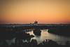 Where the Danube meets the Sava river / Belgrade 2017 (d. cassarino photography) Tags: canon400d primelens 50mm kalemegdan sunset summer outdoor beograd vojvodina serbia rs water city sky dusk