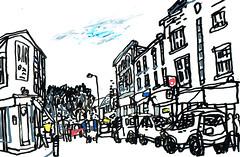 Broadway Market, Hackney, London