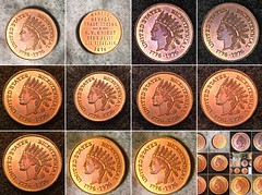 Finding the Right Shot (inferno55) Tags: coins penny proof 1976 token