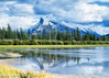 Vermilion Lake, Canada (ihoskins57) Tags: mountrundle ©nigelhoskinsphotography vermilionlake lakes alberta mountains canada snow clouds banff ca