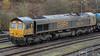 66714 (JOHN BRACE) Tags: 2003 gmemd london canada built co class 66 loco 66714 gb railfreight livery named cromer lifeboat seen tonbridge west yard rail head treatment train rhtt