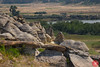 Writing-On-Stone 12 (Kasia Sokulska (KasiaBasic)) Tags: fujix canada alberta south writingonstone rock formations landscape travel hoodoos summer