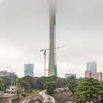 Misty Morning covering Lotus Tower thumbnail