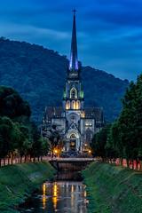 Catedral de São Pedro - Petrópolis - Rio de Janeiro (mariohowat) Tags: petrópolis entardecer noturnas canon6d canon catedraldesãopedro riodejaneiro brasil brazil bluehour