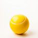 A soft yellow ball, toy