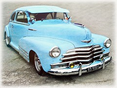1948 Chevrolet  Fleetline.. (John(cardwellpix)) Tags: 1948 chevrolet fleetline brooklands weybridge surrey uk