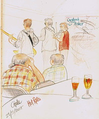 Hot Rats concert (CatherineHale) Tags: hotrats ostend belgium coloredpencil chskbk58