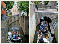 La ville est parcourue de multiples canaux que l'on peut parcourir en barque, S'Hertogenbosch, Brabant-Septentrional, Pays-Bas (claude lina) Tags: claudelina canon paysbas hollande holland nederland brabantseptentrional shertogenbosch boisleduc canal barque eau canaux
