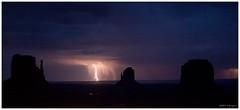 Thunder (chtimageur) Tags: monumentvalley mittens thunder roadtrip westusa landscape highiso longexposure nightshot canon6d hotel view great impressive lightning
