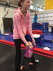 """Dani Bounces with Mommy in Her Gym Kittens Gymnastics Class • <a style=""""font-size:0.8em;"""" href=""""http://www.flickr.com/photos/109120354@N07/38376355941/"""" target=""""_blank"""">View on Flickr</a>"""