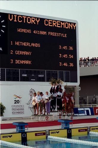 483 Swimming EM 1991 Athens