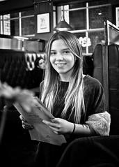 Young Woman (I M Roberts) Tags: portrait youngwoman cityoflondon fujix100s bw