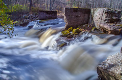 Spillway Torrent (Alternate Take) (John Kocijanski) Tags: water flow spillway dam sullivancounty longexposure leebigstopper canon24105mmf4l canon5dmkii landscape