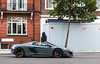 675LT. (Gal cho photography) Tags: mclaren 675lt spider roadster 675 lt rare grey orange color london sloane street cool arab exotic amazing best israel gal cho chobotaro photo photograph photography photographer world british super car cars supercar special