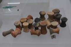 Rome, Italy - Villa Giulia (Etruscan Museum) - Terracotta Spools (jrozwado) Tags: europe italy italia rome roma villagiulia museum archaeology etruscan terracotta spool