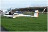 G-KMJK DG-808C (SPRedSteve) Tags: gkmjk dg808 glider sailplane shobdon