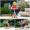 Vietnamese boy on runbike  / Ho Chi Minh City / Vietnam