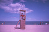 Le maitre nageur (L.la) Tags: saintcyprien pyrénéesorientales roussillon catalogne france eu europe europa europeonflickr plage mer beach ciel argentique agfa film compact yashica jobocpe2 jobo cpe2 tetenal carlzeiss agfavista scanner epson v600 epsonv600 vacances travel voyage laurentlopez lla tessar