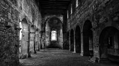 Burg Konradsdorf Ruine Romanische Kirche (wernerfunk) Tags: einfarbig church ruine hessen architektur