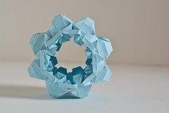 Single Piece Gear Prototype (Byriah Loper) Tags: origami modularorigami modular byriahloper byriah paperfolding paper polygon polyhedron compound complex