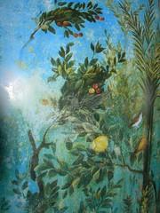 Gli affreschi della villa di Livia a Palzzo Massimo _14