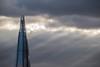 Shard (marktmcn) Tags: renzo shard tower skyscraper architect piano london bridge glass shards pyramid spire clouds jacobs ladder sun rays sunrays dark grey break sky d610 nikkor 28300mm light