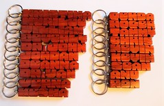 Paduak Wood Name Keychains (DustyNewt Scott) Tags: wood wooden woodworking personal personalized name keychain handmade custom madetoorder fob keyfob letters dustynewt paduak gerda roger kevin ron verna sean tammy william merilee kesha jordan beverly kristina deanna chris anu