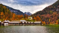 Autumn on the Lake (joseph_donnelly) Tags: lake autumn fall herbst see königssee schönau colours farben sky water luminar germany bayern bavaria