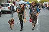 The people that you meet when you're walking down the street (radargeek) Tags: tattoo monterey ca california dog farmersmarket market downtown 2017 march servicedog