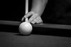 Patience (K.M. Smith Photography) Tags: blackandwhite canon kmsmith billiards